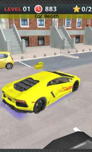 Conduite 3D école Parking 3