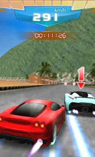 Course Rapide 3D - Fast Racing 2