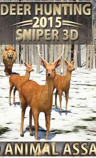 Deer Hunting - Sniper 3D 3