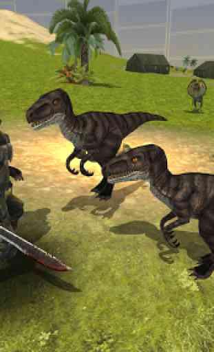 Dinosaur Mercenary 3D 1