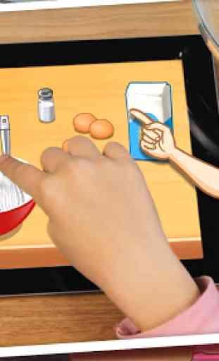 École de cuisine Sara - Le jeu 3