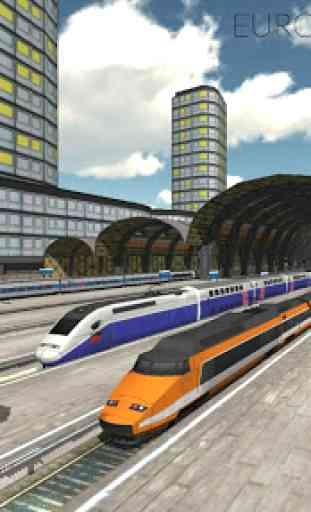 Euro Train Simulator 1