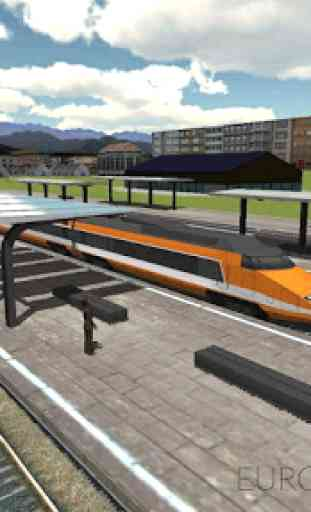 Euro Train Simulator 3