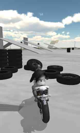 Extreme Motorbike Racer 3D 2