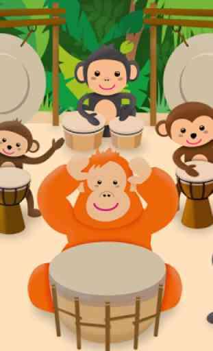 Instruments de musique bébé 1