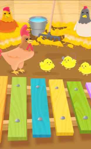 Instruments de musique bébé 2