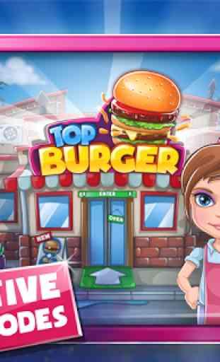 Jeu de cuisine: Burger Chef 1