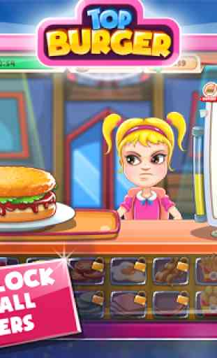 Jeu de cuisine: Burger Chef 2