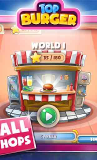 Jeu de cuisine: Burger Chef 3