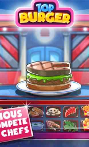 Jeu de cuisine: Burger Chef 4