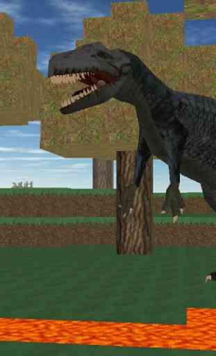 Jurassic craft - dino hunter 1