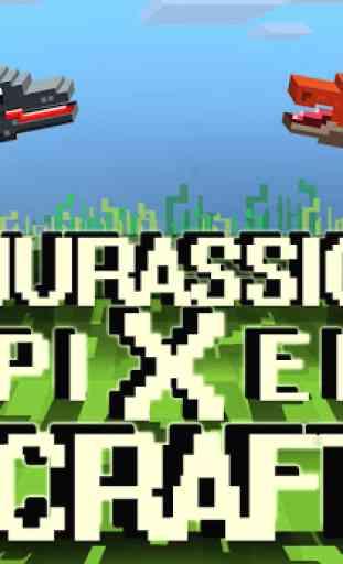 Jurassic Pixel Craft: dino age 1