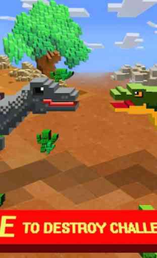 Jurassic Pixel Craft: dino age 2
