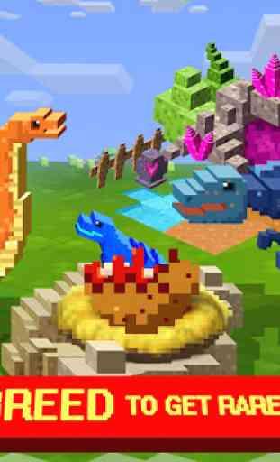 Jurassic Pixel Craft: dino age 4
