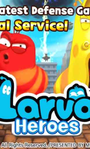 Larva Heroes: Lavengers 2017 1