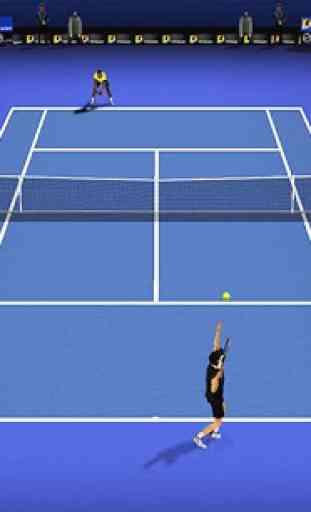 Le tennis chiquenaudé 3D 1