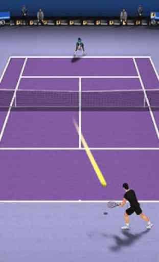 Le tennis chiquenaudé 3D 4