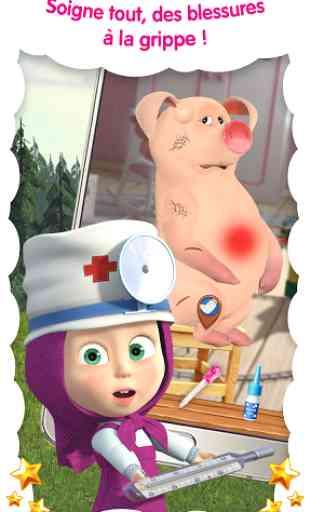 Masha Docteur: hôpital animaux 2