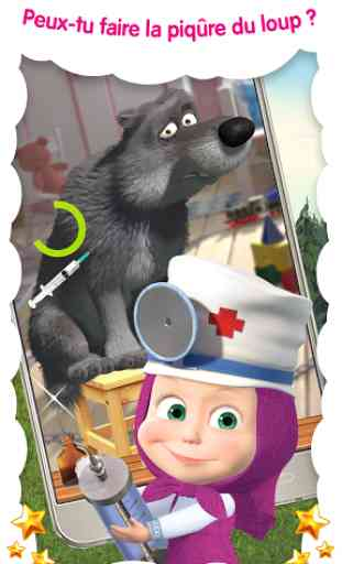 Masha Docteur: hôpital animaux 3