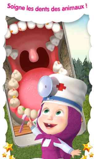Masha Docteur: hôpital animaux 4