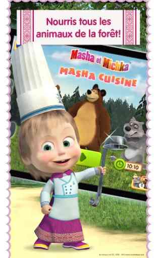 Masha: jeux de cuisine gratuit 1
