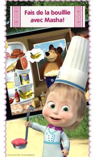 Masha: jeux de cuisine gratuit 3