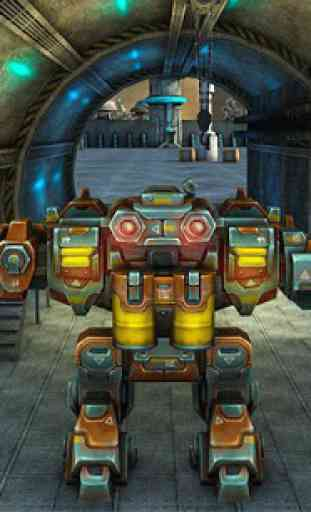 Mech Robot War 2050 1