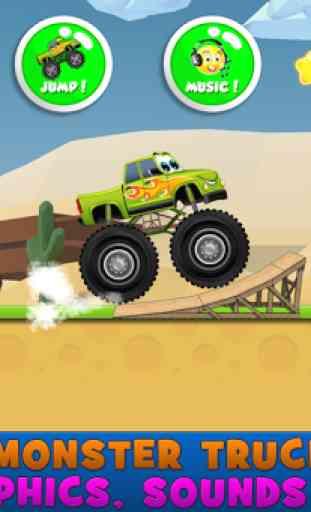 monstre camions enfants jeu 2