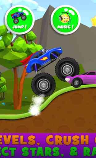 monstre camions enfants jeu 4