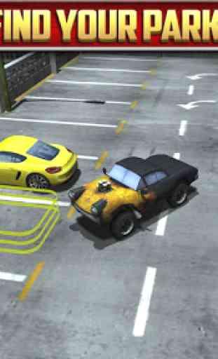 Multi Level Car Parking Games 4