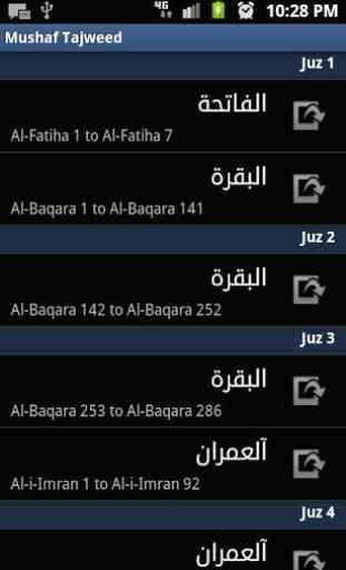 Mushaf Tajweed - Holy Quran 3
