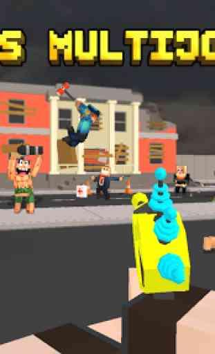 Pixel Fury: 3D Multijoueur 1