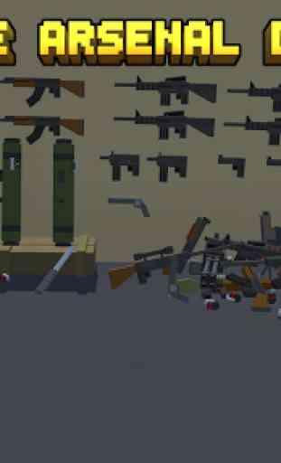 Pixel Fury: 3D Multijoueur 3