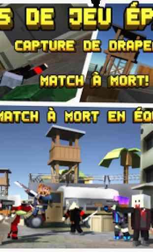 Pixel Fury: 3D Multijoueur 4