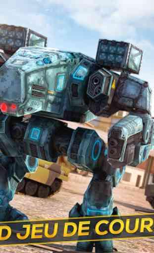 Robots et Tanks de Guerre 3D 1
