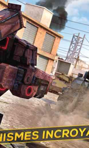 Robots et Tanks de Guerre 3D 2
