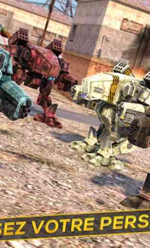 Robots et Tanks de Guerre 3D 3