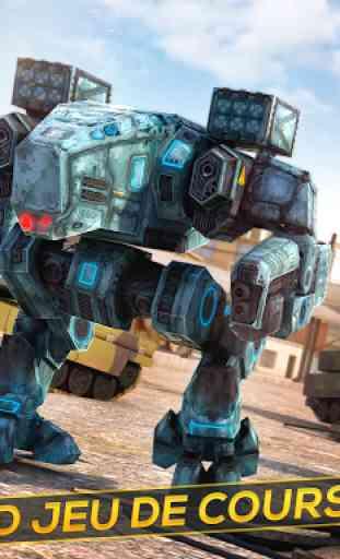 Robots et Tanks de Guerre 3D 4