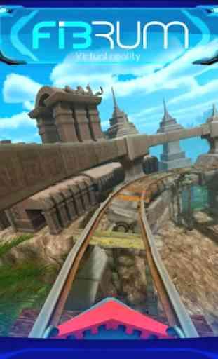 Roller Coaster VR attraction 1