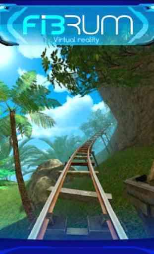 Roller Coaster VR attraction 3