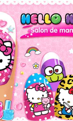 Salon de manucure Hello Kitty 1