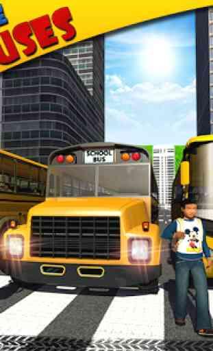 Schoolbus Driver 3D SIM 4