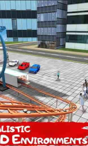 Simulateur de montagnes rus VR 2