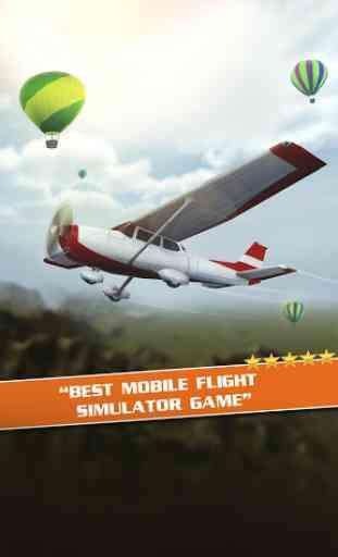 Simulateur de Vol 3D Gratuit 2