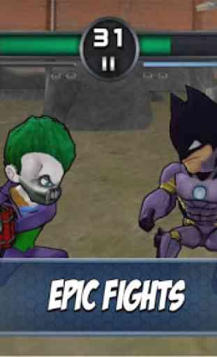 Superheros 3 Jeux de Combats 2