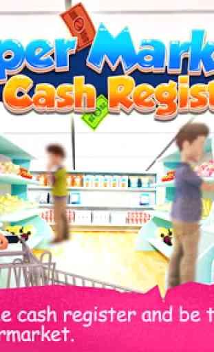 Supermarché Cash Register 1