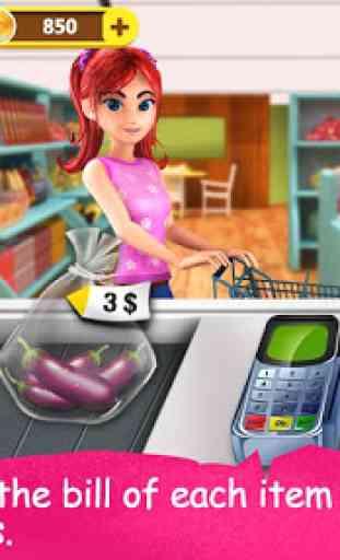Supermarché Cash Register 3