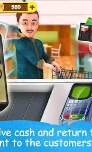 Supermarché Cash Register 4
