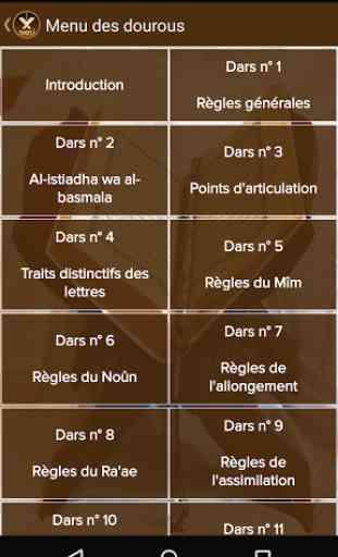 Tajwid Al Quran [Français] 3
