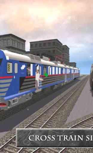 Train Chemins d'entraînement 4